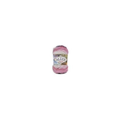 Burcum Batik, 1602 - fehér-rózsaszín-szürke