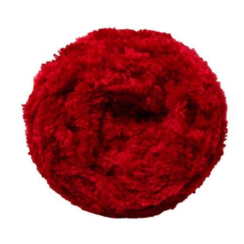 Koala - puha, zseníliás fonal, 75703 - piros
