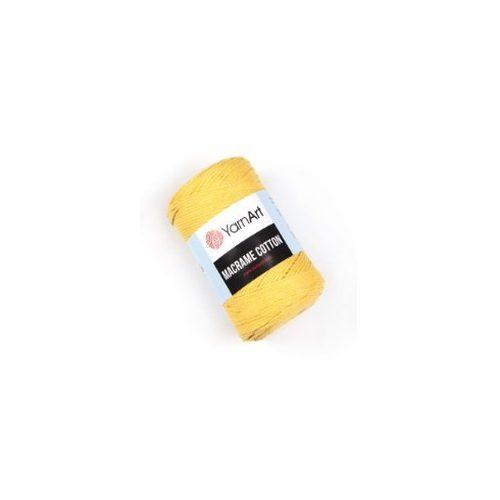 Macrame Cotton, 764 - világos sárga