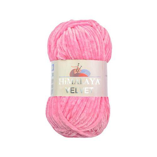 Velvet - Plüss fonal, 90009 - sötét rózsaszín