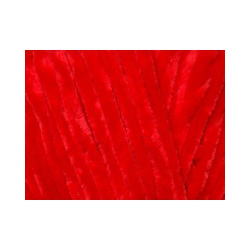Velvet - Plüss fonal, 90018 - piros